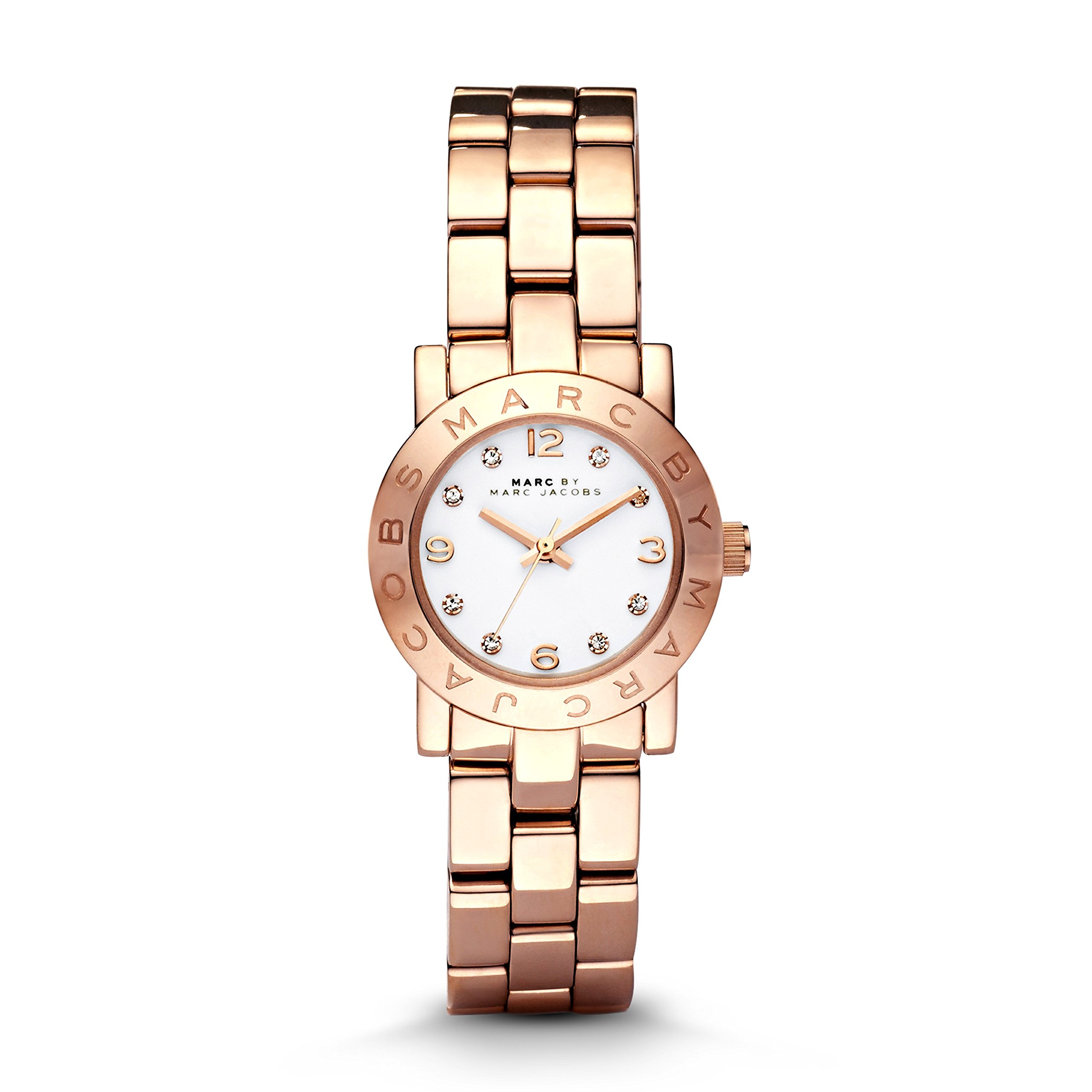 Marc by Marc Jacobs Women's MBM3078 Mini Amy Rose-Tone Stainless Steel Watch