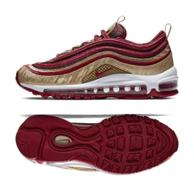 newest collection 5a36f df7d7 Amazon.com | Nike Air Max 97 QS (GS) BQ4429-600 Noble Red ...