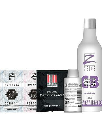 Pack Reflejos en Casa: Oxigenada 30 Vol, Sobre Polvo Decolorante, Tratamiento en 2