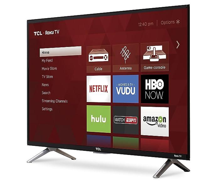 Amazon.com  TCL 32S305 32-Inch 720p Roku Smart LED TV (2017 Model)   Electronics 8c4be454a