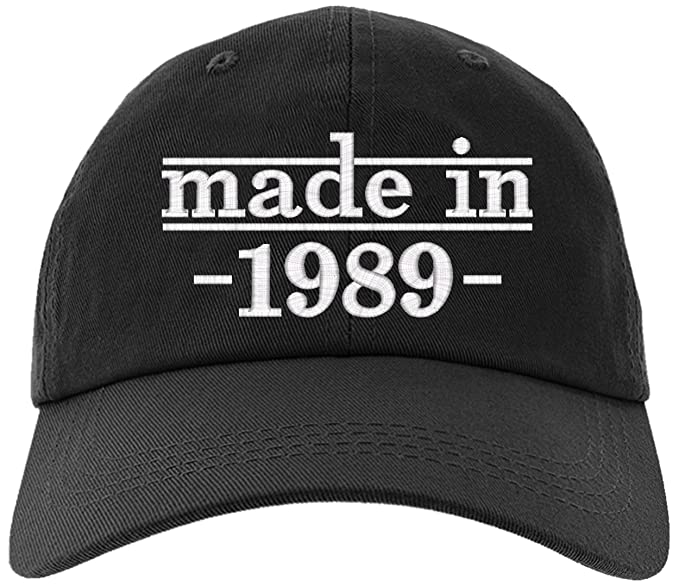 Cap 1989 30th Birthday Gift Made In Baseball Hat EM 0025