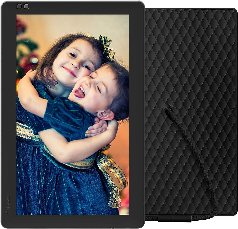 NIXPLAY Seed WLAN Digitaler Bilderrahmen 10 Zoll Teilen Sie Momente sofort /über die App oder E-Mail