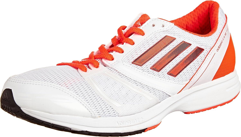 incrementar Serrado Emigrar  Adidas Adizero Ace 6 M, White/solred/orange, 11 M Us: Amazon.co.uk: Shoes &  Bags