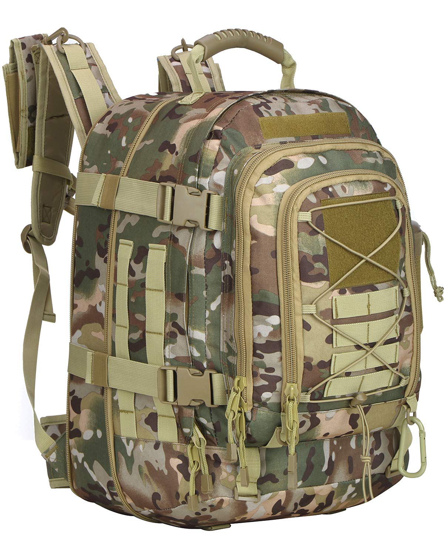 xwlsport Military Tactical Assaultバックパックタクティカルスリングバッグパックアウトドアハイキングキャンプハンティング学校など  OCP B07F6ZYD3X