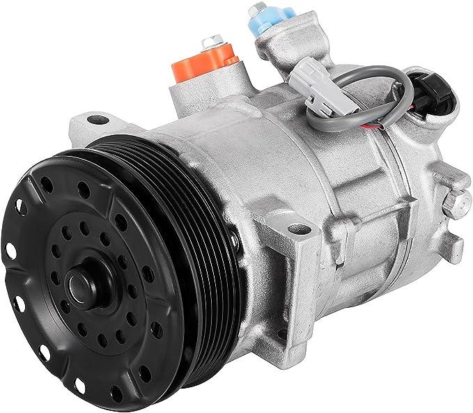 mophorn AC a/c compresor embrague 14 LBS aire acondicionado Compresor embrague 3.7L Compresor De Aire Acondicionado Coche para Jeep Liberty 06 - 08 Dodge Nitro 07 - 08: Amazon.es: Coche y moto