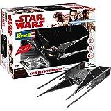 Revell Build & Play Star Wars Kylo Ren's TIE Fighter - 06760, Maßstab 1:70, originalgetreue Nachbildung mit beweglichen Teilen, mit Light&Sound Effekten, robust zum Spielen