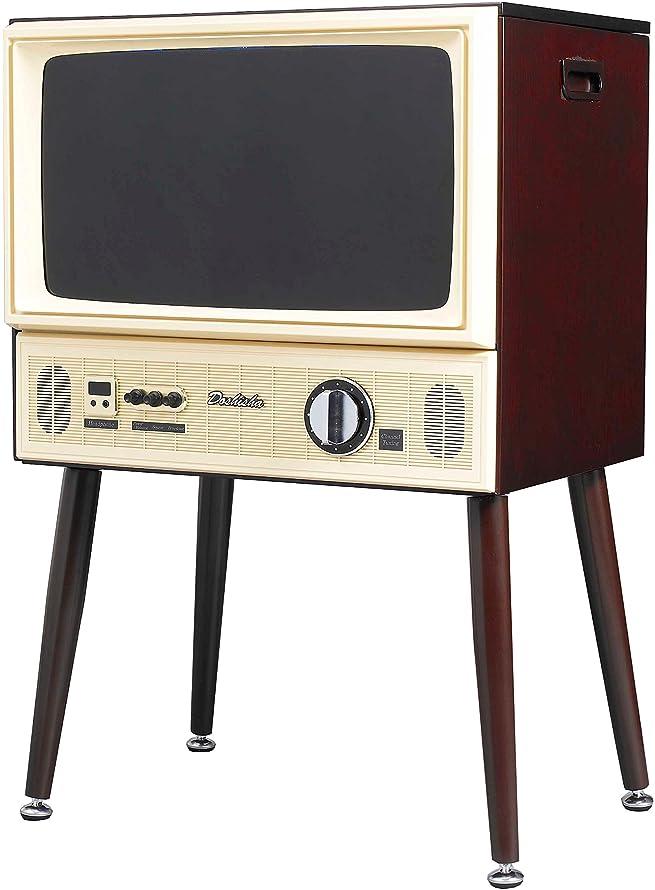 DOSHISHA 20V型ヴィンテージデザイン ハイビジョン液晶テレビ外付けHDD対応 VT203-BR
