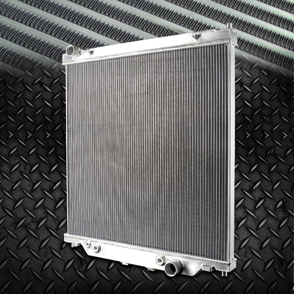 6.0L Aluminum Radiator For FORD F250 F350 Powerstroke 2003-2007 AT/MT 2004 2005 2006 Gplusmotor