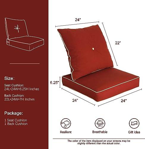 Bossima Cushions Outdoor Chair Cushion  - the best outdoor chair cushion for the money
