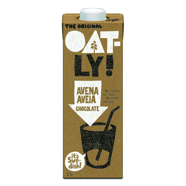 Oatly Bebida Avena con Chocolate - 1000 ml - [Pack de 3]: Amazon.es: Alimentación y bebidas
