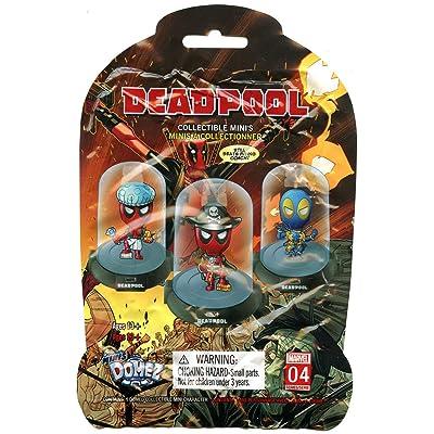 Marvel's Deadpool Collectable Original Mini Domez Figurine One Blind Box Random Figurine Series 2: Toys & Games