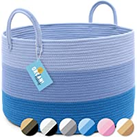 """OrganiHaus XXL Extra Large Cotton Rope Basket 