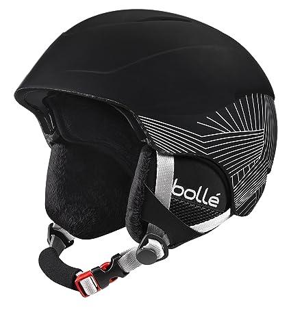 Amazon.com  Bolle B-Style Ski Snow Helmet with Integrated ... ba1c19b3897