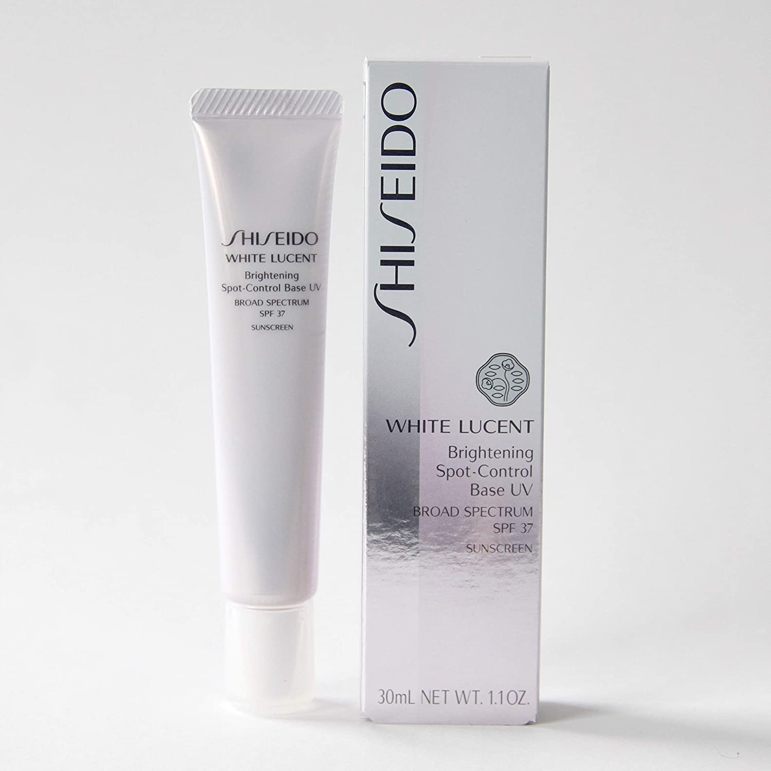 Shiseido White Lucent Brightening Spot Control Base UV Broad Spectrum SPF 37 Sunscreen Color - IVORY