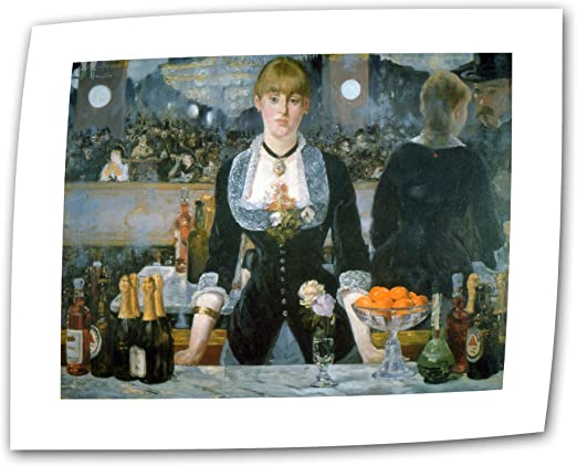 Bar at the Folies-Bergere various sizes Manet fine art giclee print poster