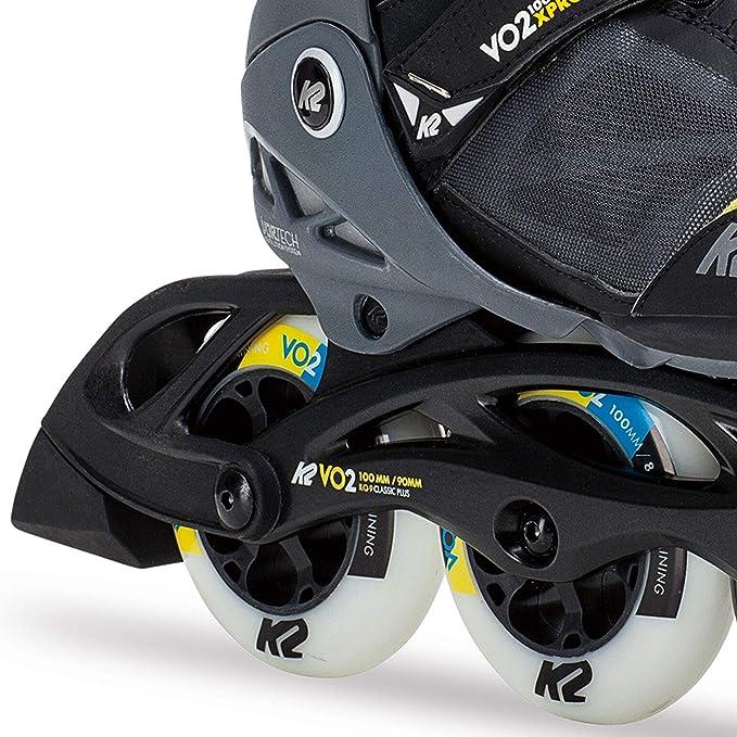 K2 VO2-S 100 x Pro Damen Inline Skates Inline Skates Hi-Lo Performance