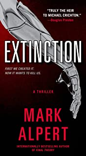Amazon the omega theory a novel 9781416595342 mark alpert extinction a thriller fandeluxe Image collections