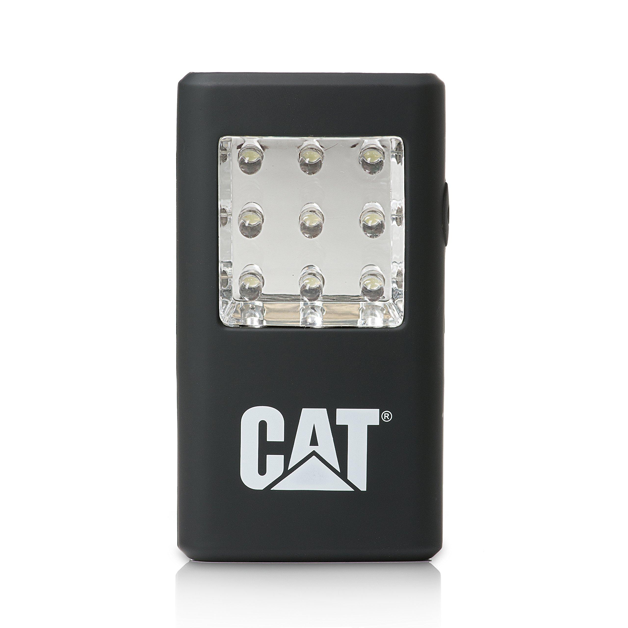 Cat CT50550 45/80 Lumen Dual  Pocket Light Features Two Separate Lighting Panels (Black) by Caterpillar