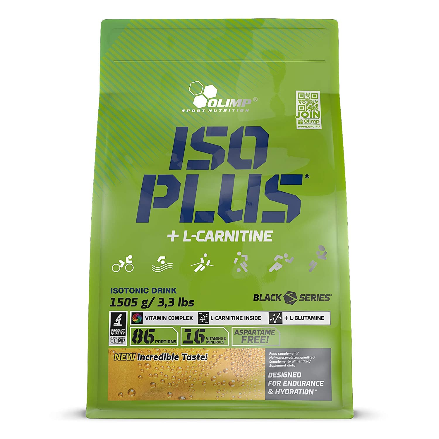 Olimp Sport Nutrition ISO PLUS +L Carnitine - Powder Zip Bag ...