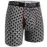 """2UNDR Men's Swing Shift 6"""" Boxer Brief Underwear"""