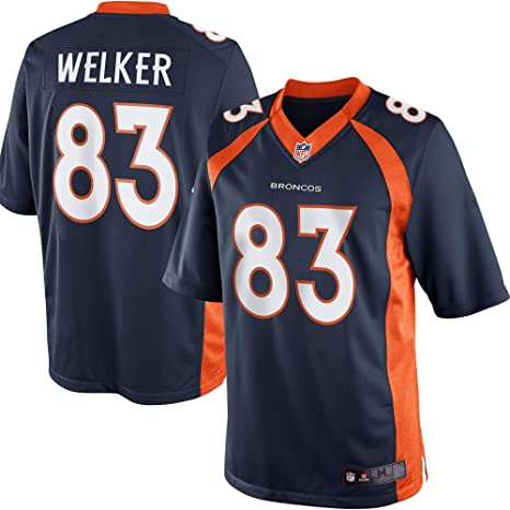 best loved d8fc8 94219 Outerstuff Wes Welker Denver Broncos Navy Baby/Infant Jersey