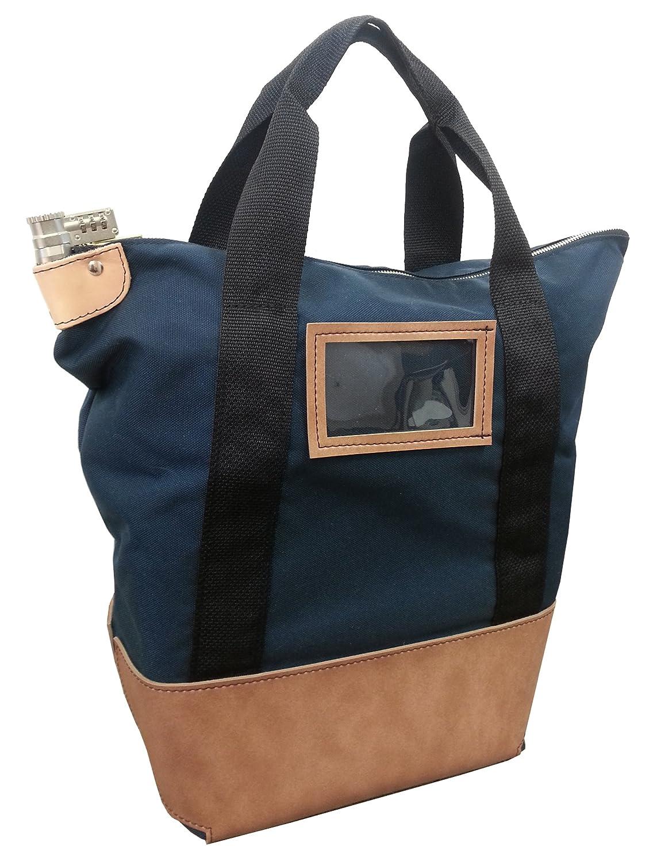 Locking Courier Bag 1000 Denier Nylon Combination Keyed Lock (Navy Blue) Cardinal Bag Supplies 76202429