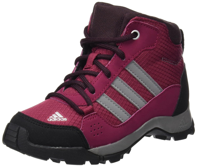 MultiCouleure - Rose gris (Rubmis Gritre Borsc) 35.5 EU adidas Hyperhiker K, Chaussures de Randonnée Hautes Mixte Enfant