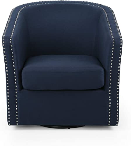 Christopher Knight Home Octavia Contemporary Fabric Swivel Chair