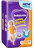 BabyLove Premium Nappy Pants, Size 5 (12-17kg), 100 Nappies (2x 50 pack)