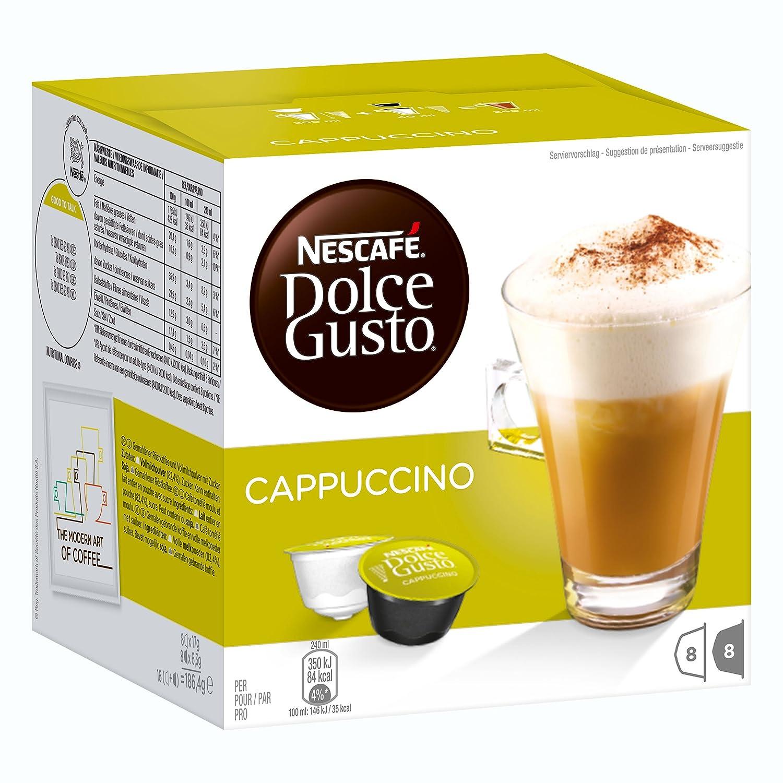 Nescafé Dolce Gusto Cream Set Latte Macchiato Cappuccino Au Lait 3 X 16 Capsules