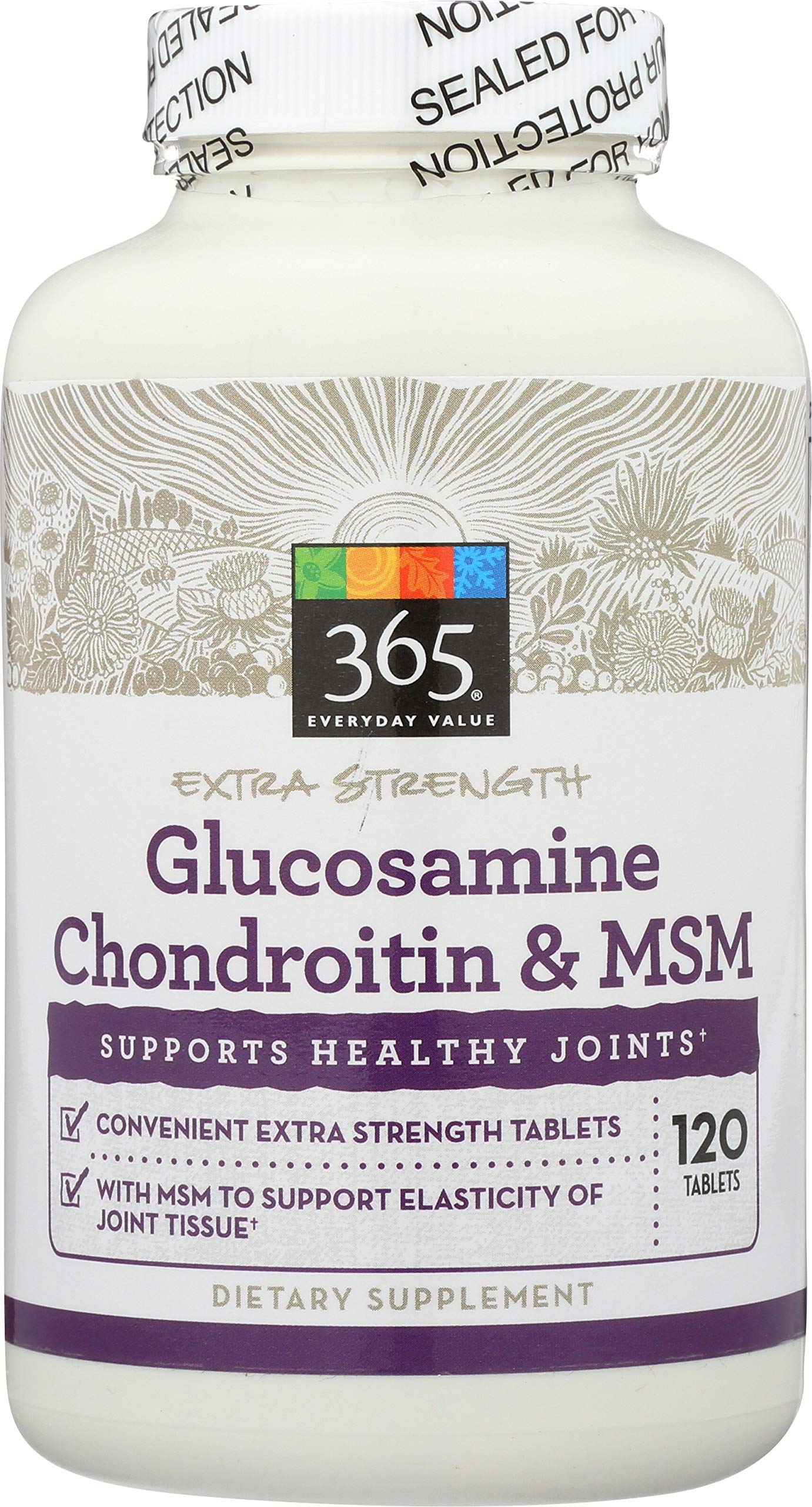 365 Everyday Value, Glucosamine Chondroitin & MSM, 120 ct by 365 Everyday Value