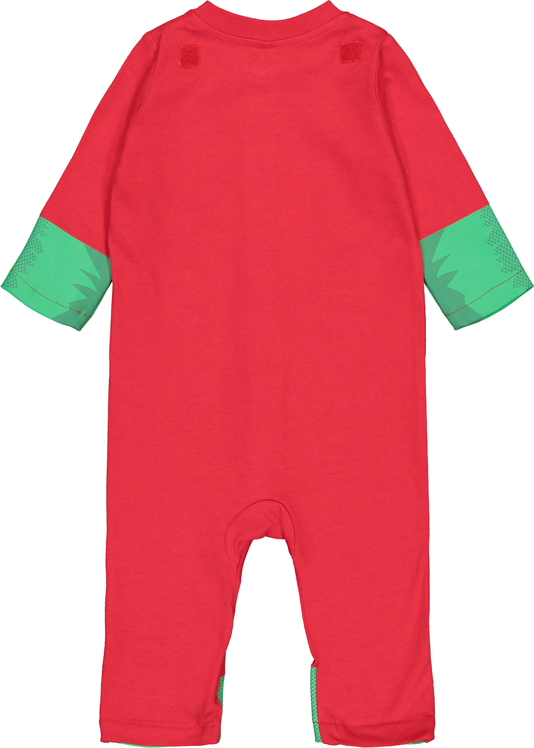 Warner Bros. Justice League Robin Baby Boys' Zip-Up Caped Costume Coverall (18 Months) by Warner Bros. (Image #5)