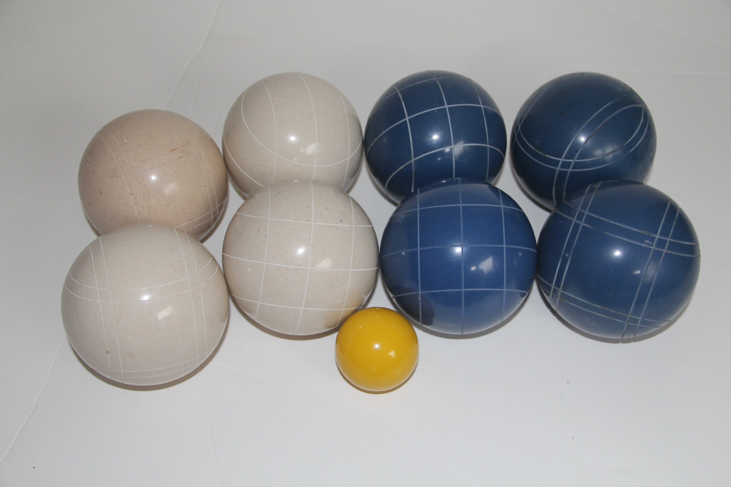 Premium Quality Epco Tournament Set - 110mm Blue and White Bocce Balls - No BAG Option [Toy] by Epco