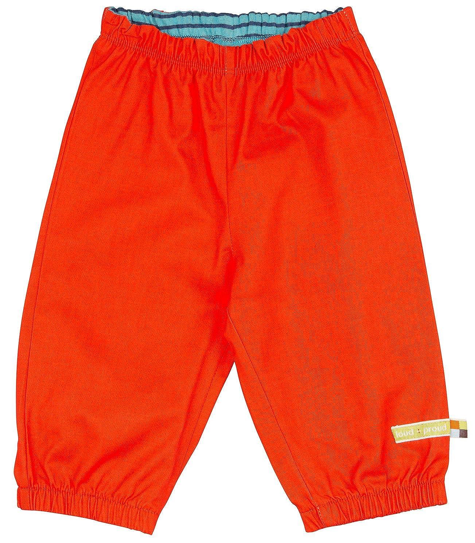 GOTS Zertifiziert Hose aus Bio Baumwolle loud proud Unisex Baby Wasserabweisende Outdoorhose