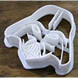 Darth Vader Star Wars Fondant or Play-Doh Cutter 3D Printed (White)