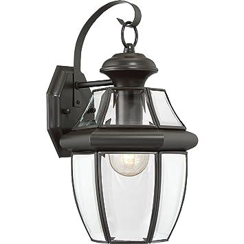 quoizel ny8316z newbury light outdoor wall lantern medici bronze