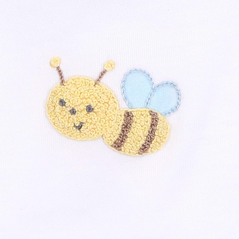 Magnolia Baby Unisex Baby Tiny Bee Emb Sock Yellow
