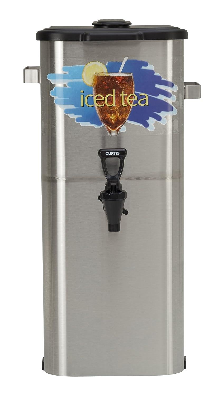 "Wilbur Curtis Iced Tea Dispenser 4.0 Gallon Tea Dispenser, Oval 21""H - Designed to Preserve Flavor - TCO421A000 (Each) Wilbur Curtis Co. Inc."
