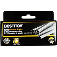 Stanley Bostitch B8 PowerCrown 0.25 Inch Staples, Pack of 5,000 Staples (STCRP21151/4), Silver