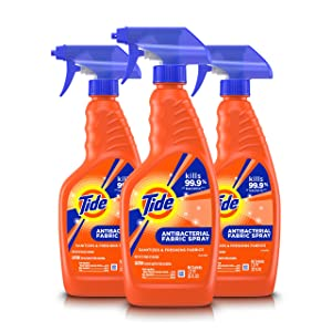 Tide Antibacterial Fabric Spray, 3 Count, 22 Fl Oz Each