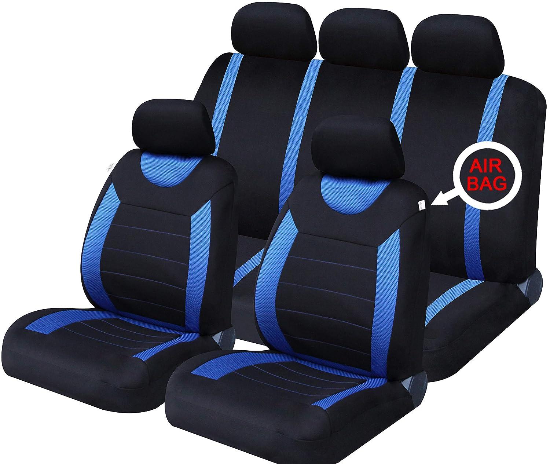 Carnaby Red Sakura SS5293 Full Seat Covers Set
