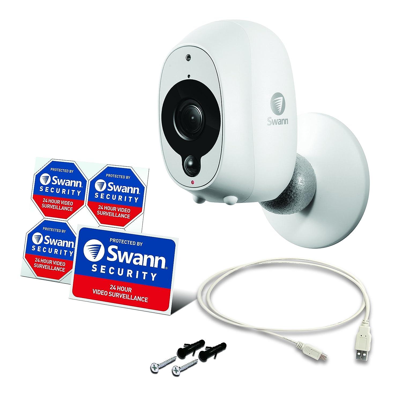 Swann Kit de c/ámara de Seguridad para Interiores y Exteriores HD con visi/ón Nocturna Kit de 1 c/ámara UK