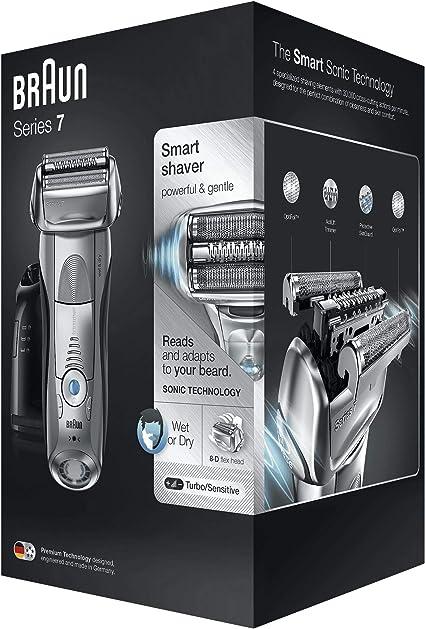 Braun Series 7 7899 cc afeitadora eléctrica, tecnología Wet & Dry ...