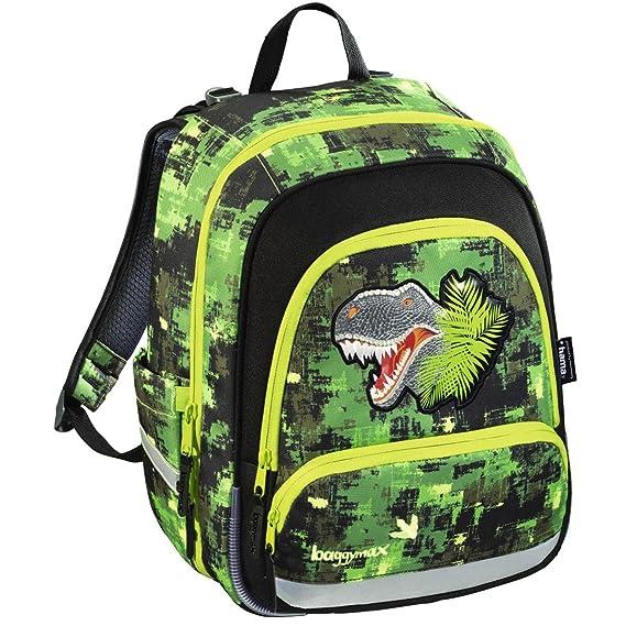 Baggy Max Speedy Mochila Escolar, Green Dino: Amazon.es: Ropa y accesorios