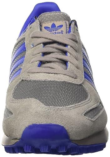 the latest f24a7 29b04 Adidas la Trainer, Scarpe da Ginnastica Uomo, Grigio (Chsogr Boblue Ftwwht),  48 EU  Amazon.it  Scarpe e borse