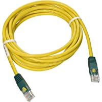 Tripp Lite Cat5e 350MHz Molded Cross-over Patch Cable (RJ45 M/M) - Yellow, 10-ft.(N010-010-YW)