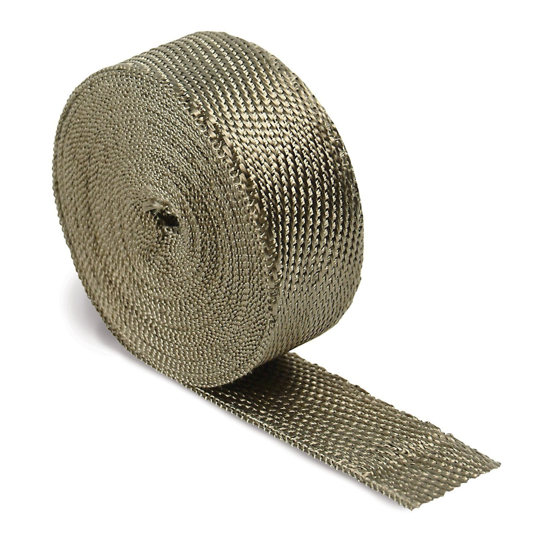 """DEI 010127 Titanium Exhaust Wrap 2/"""" x 50/'"""