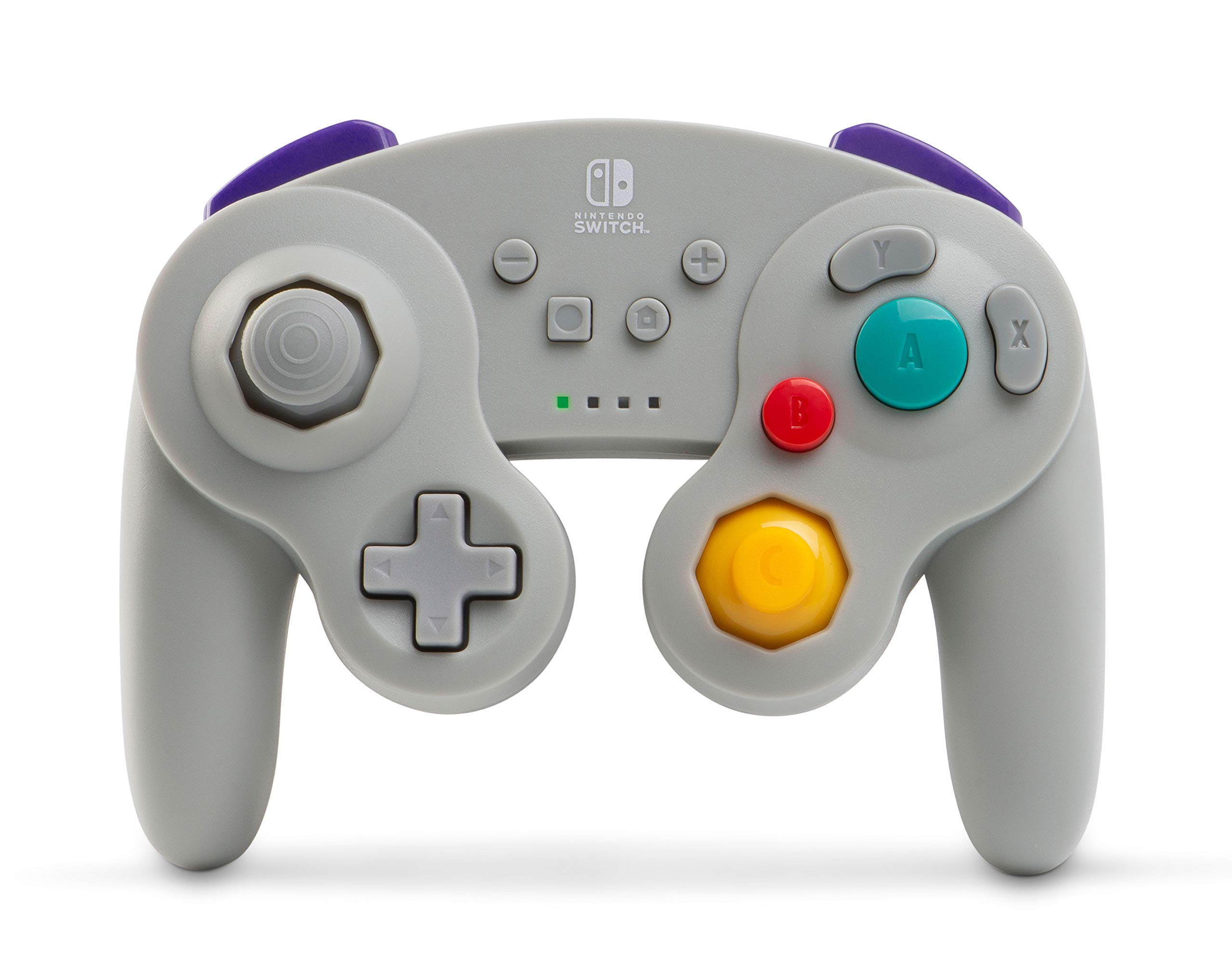 PowerA Wireless GameCube Style Controller for Nintendo Switch - Grey