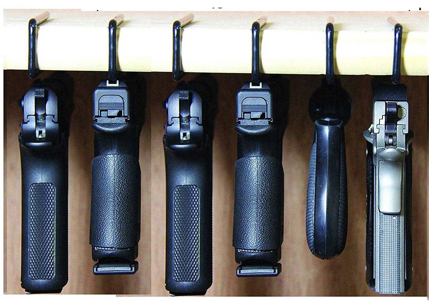 Safety Solutions For Gun Storage Pack Of 6 Original Pistol