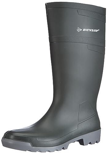 Dunlop W486711.AF HOB-KUIT GROEN 45, Unisex-Erwachsene Langschaft Gummistiefel, Grün (Grün(Groen) 08), 45 EU